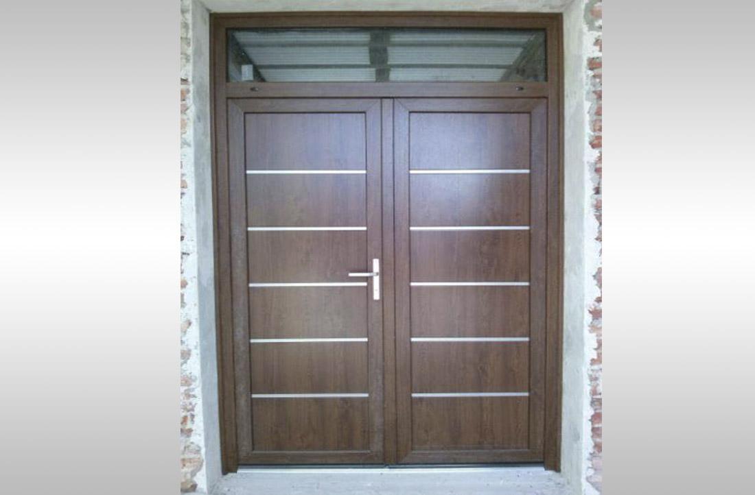 Aberturas de exterior de pvc for Aberturas pvc simil madera precios