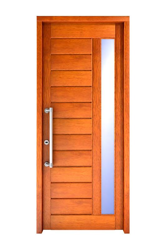 Puertas de exterior de madera for Puertas de madera modernas para exterior